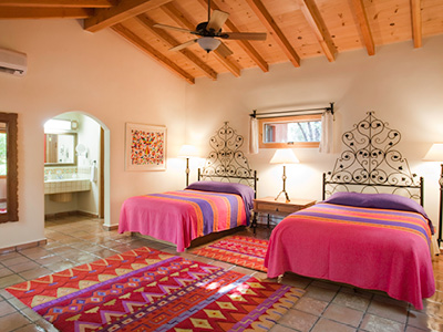 Hacienda bedroom