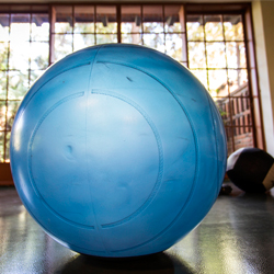 Stability Ball Class at Rancho La Puerta