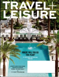 Travel+Leisure January 2015