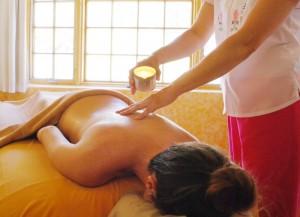 massage w_candle