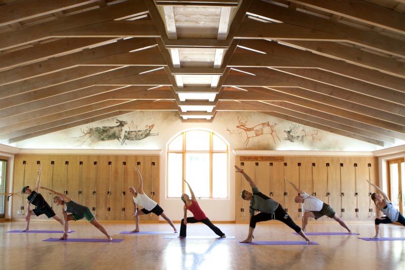gentle yoga, yoga, yoga class, health retreat, health spa, destination spa