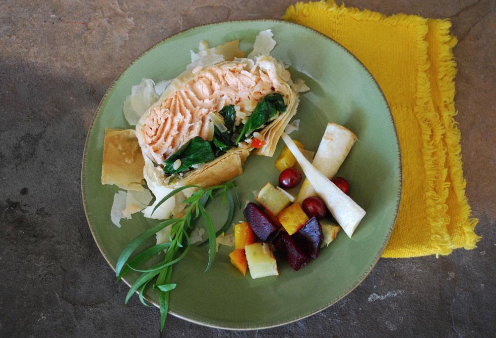 Glazed Roasted Salmon En Croûte, salmon recipe, salmon recipes, healthy recipes