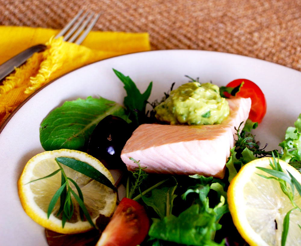 Salmon Recipe Rancho La Puerta