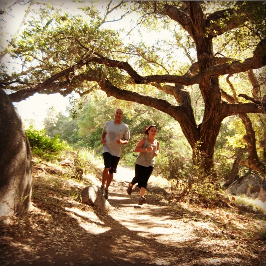 Running at Rancho La Puerta