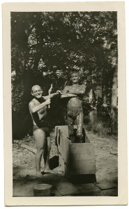 edmond and mud man