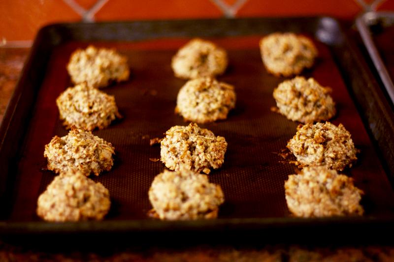 Gluten Free Coconut Almond Cookies 4