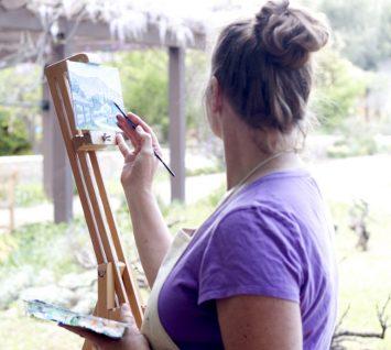 Jennifer Brandt Art Rancho La Puerta