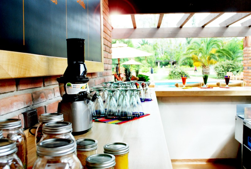 Organic Juice Bar Rancho La Puerta 4