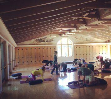 yoga at rancho la puerta