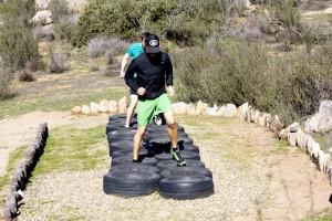 parkour training at Rancho La Puerta 30