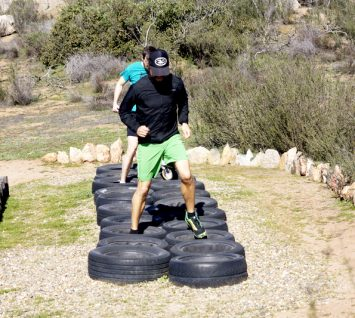 parkour training at Rancho La Puerta 30