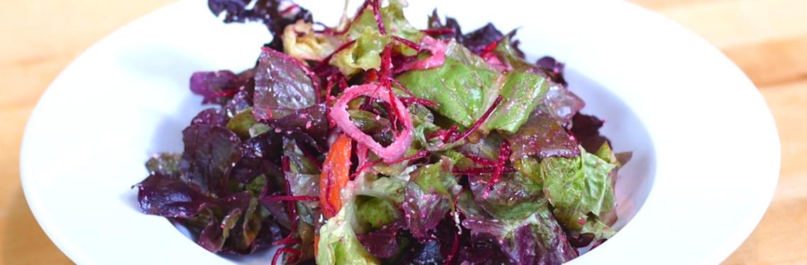 Cashew Garlic Mint Salad Dressing Recipe