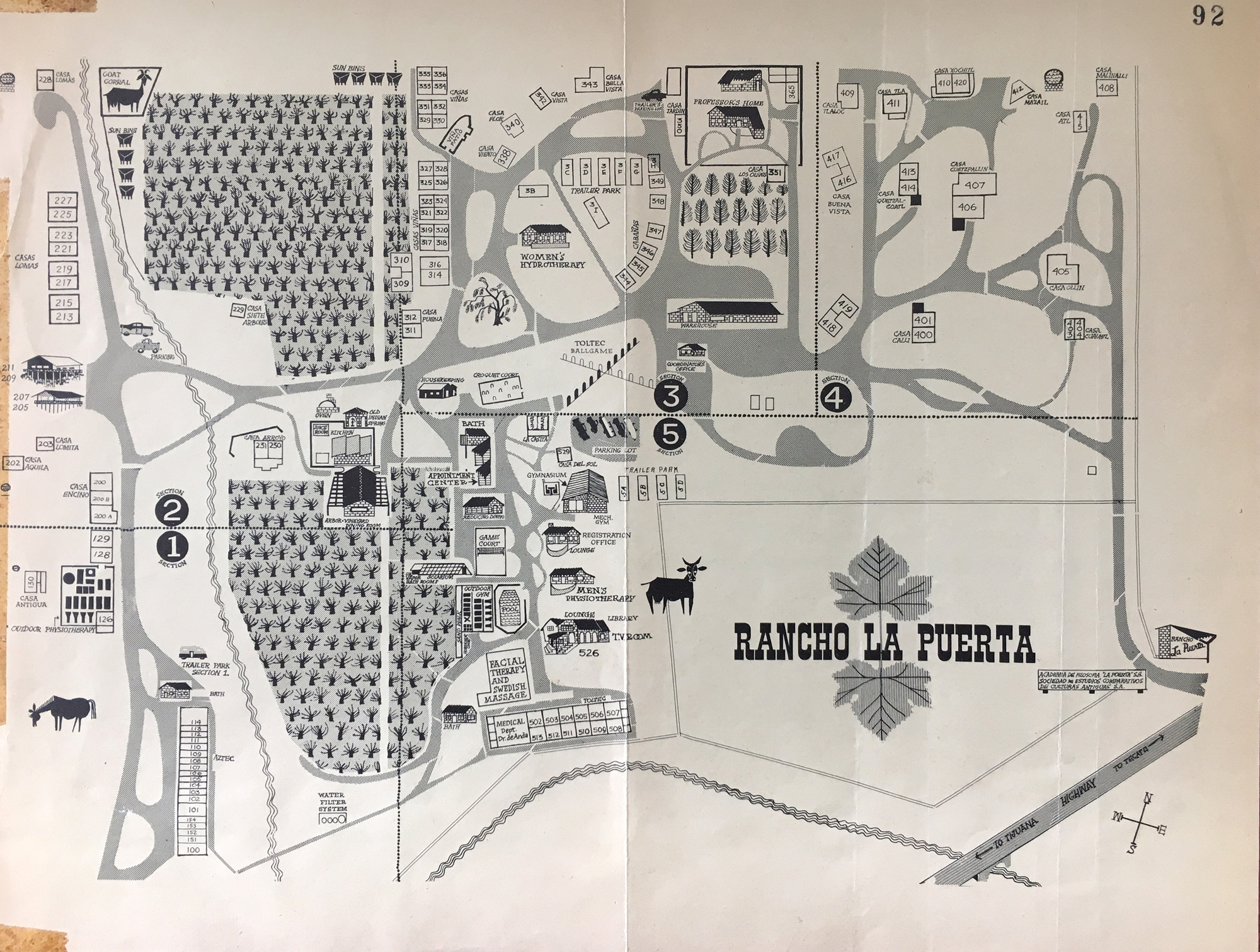 Origins Of The Ranch Part Liv Rancho La Puerta Actually Prefer To Get Several Copies My Floor Plan And Draw Each In Many Ways Dear Time Traveler Youd Find It Much Like Today Andnot Surprisinglysome Traditions Activities Have Fallen By