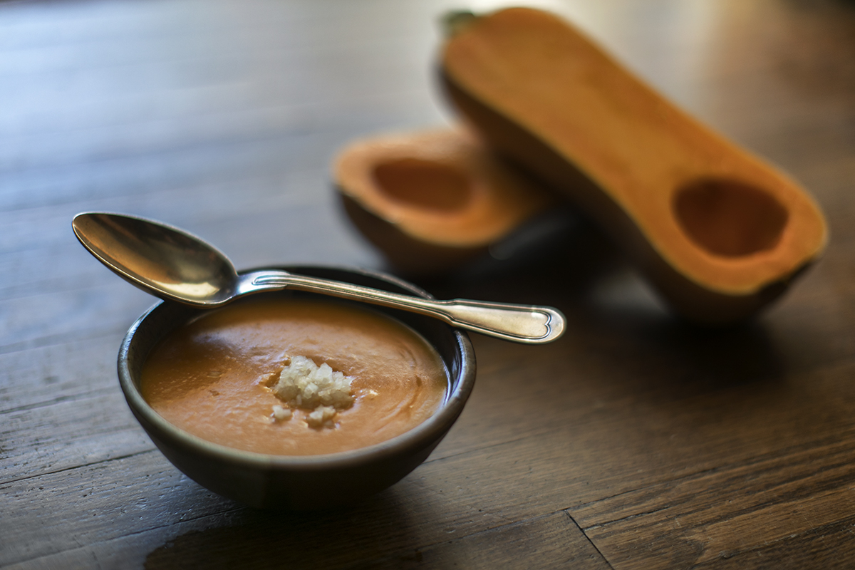 Smoky Butternut Squash Bisque