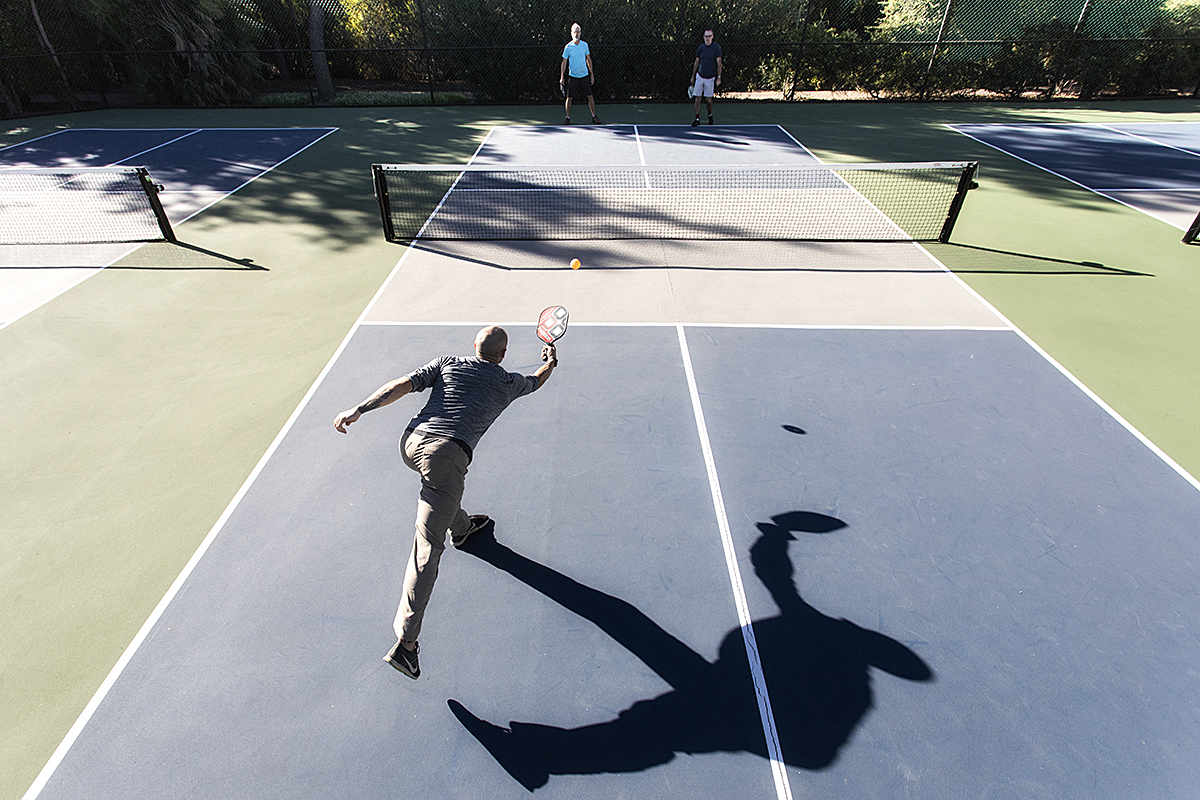 Pickleball The Love Child Of Tennis And Badminton Rancho La Puerta