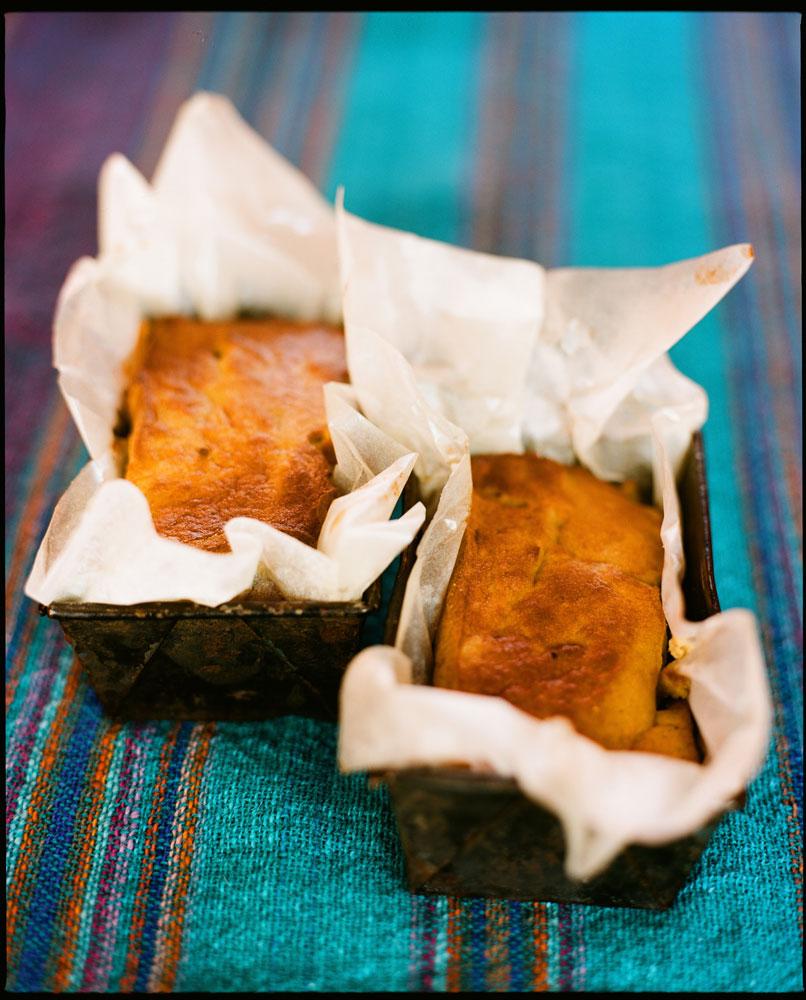 Orange Saffron Pine-Nut Bread, bread recipe, food, healthy recipe