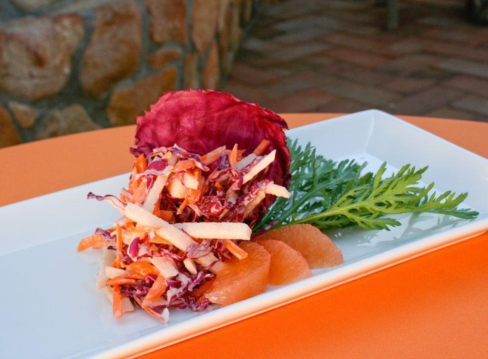 Jicama Slaw with Pink Grapefruit, jicama recipe, jicama recipes, healthy recipe, healthy recipes, salad recipe, grapefruit recipe
