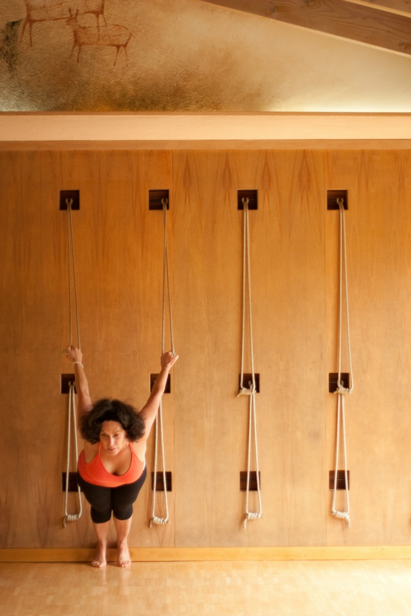 yoga, rope yoga, stretching, fitness, exercise, health retreat, health spa, destination spa, vacation spa