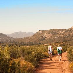 Mountain Hike Pilgrim Trail