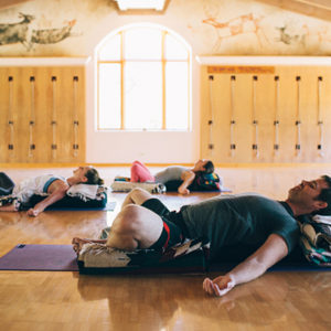 yoga classes  rancho la puerta