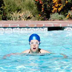 Deep Water Workout at Rancho La Puerta
