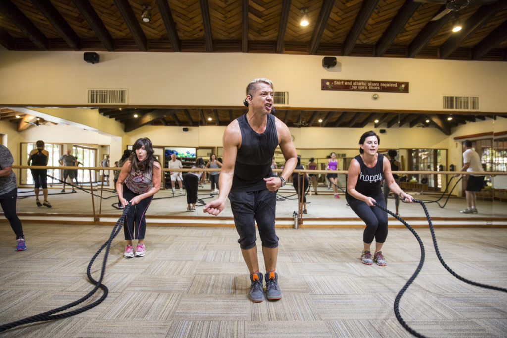 Ropes Class Interval Training