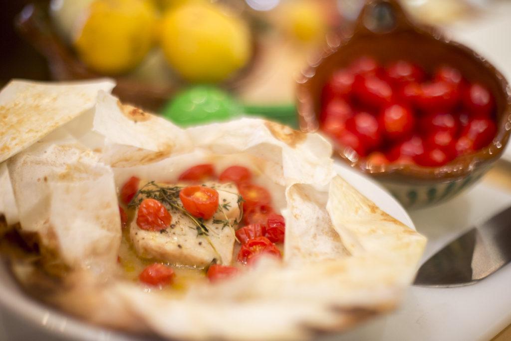 Poisson en Papillote – Poached Fish Recipe