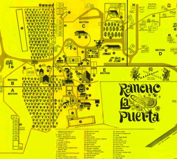 "Origins of the Ranch, Part 41-For all you Ranch ""regulars""—take a look back via this rare 1974 map"