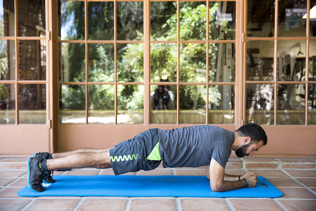 Forearm Plank And Core Strengthening with Rancho La Puerta