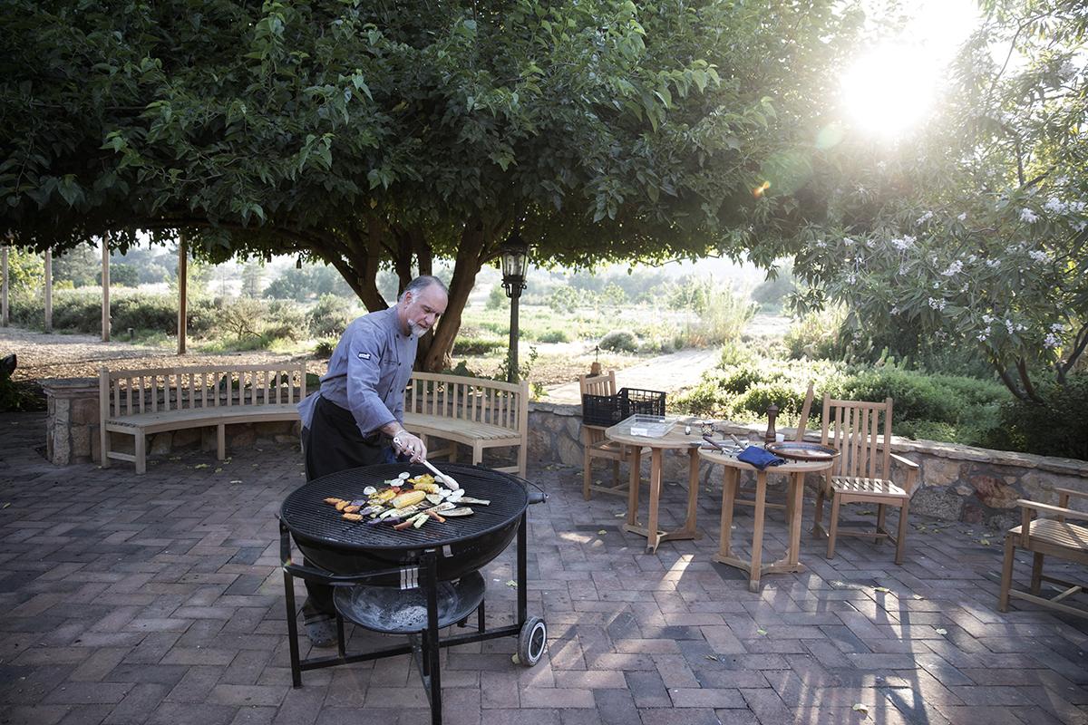 Grilling Tips with Chef Gary Jenanyan at Rancho La Puerta