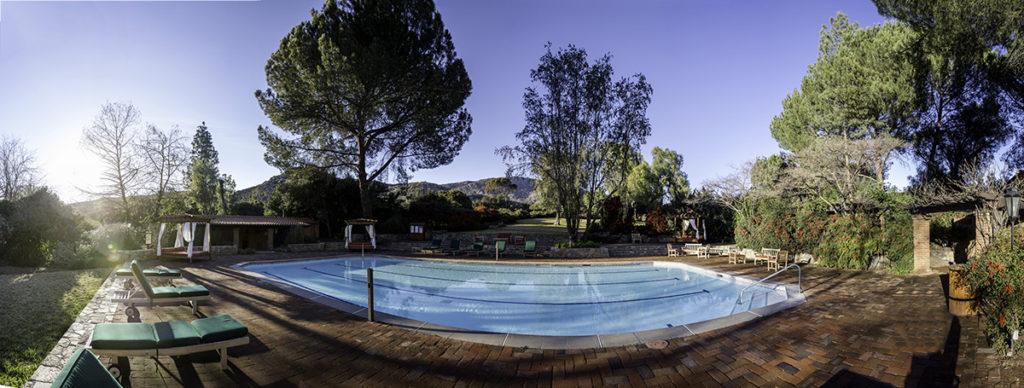 July at Rancho La Puerta