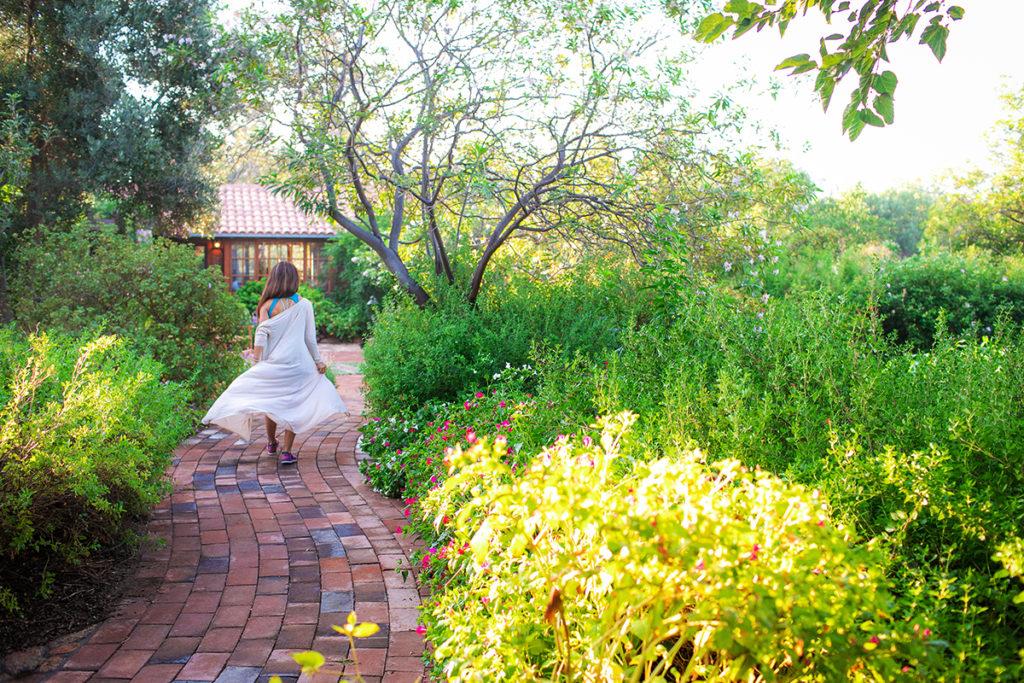October at Rancho La Puerta