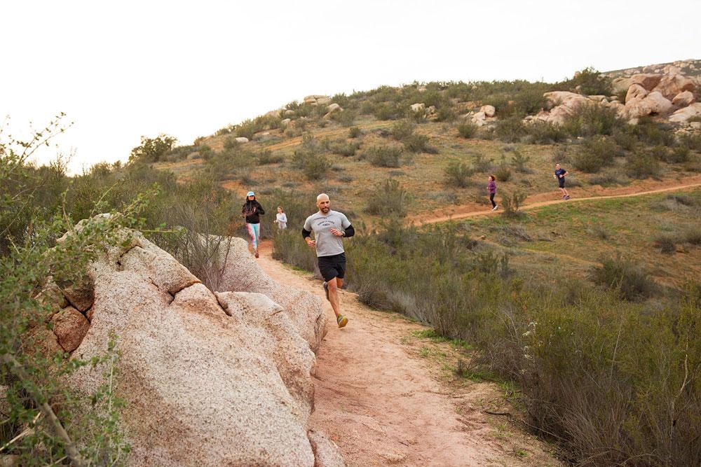 Half Marathon training with Team Rancho La Puerta