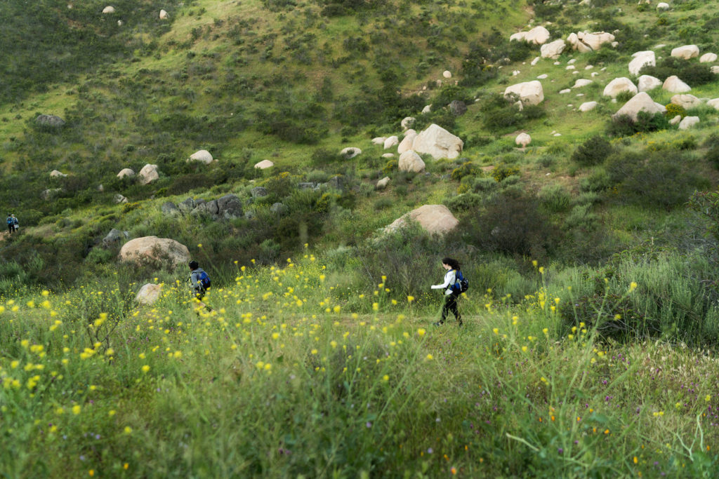 April at Rancho La Puerta
