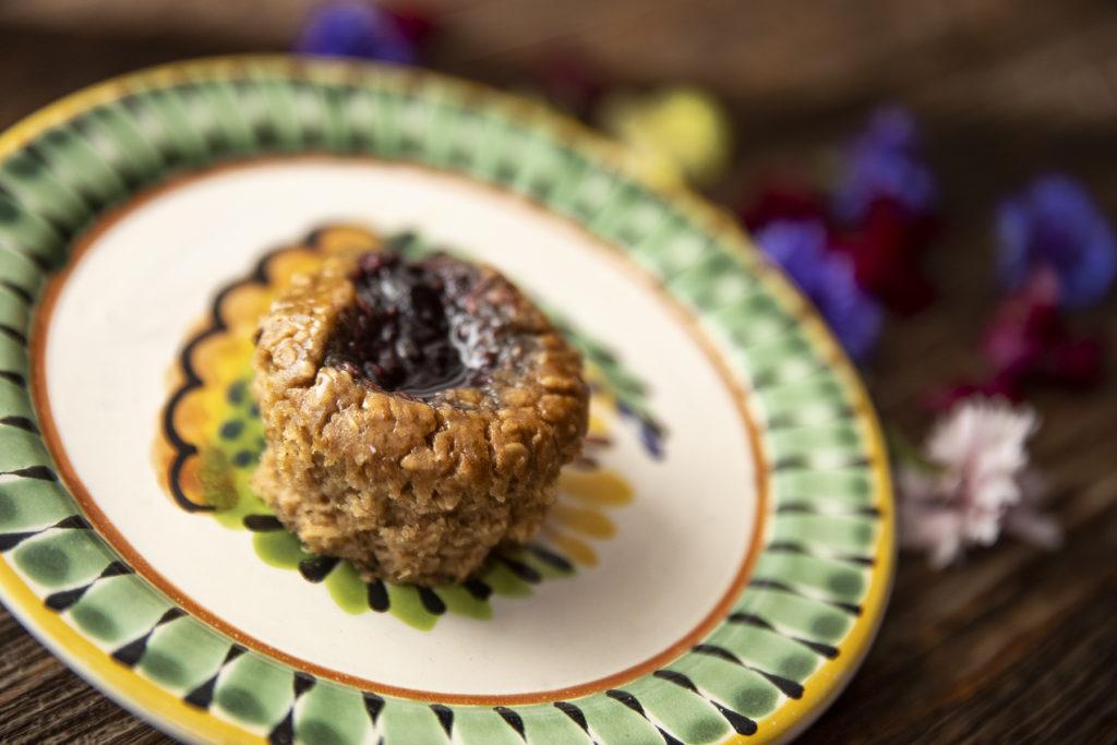 Oat-Banana & Jam Muffin Recipe