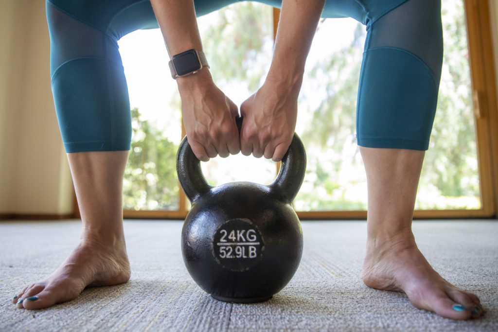 Building Strength with Kettlebells