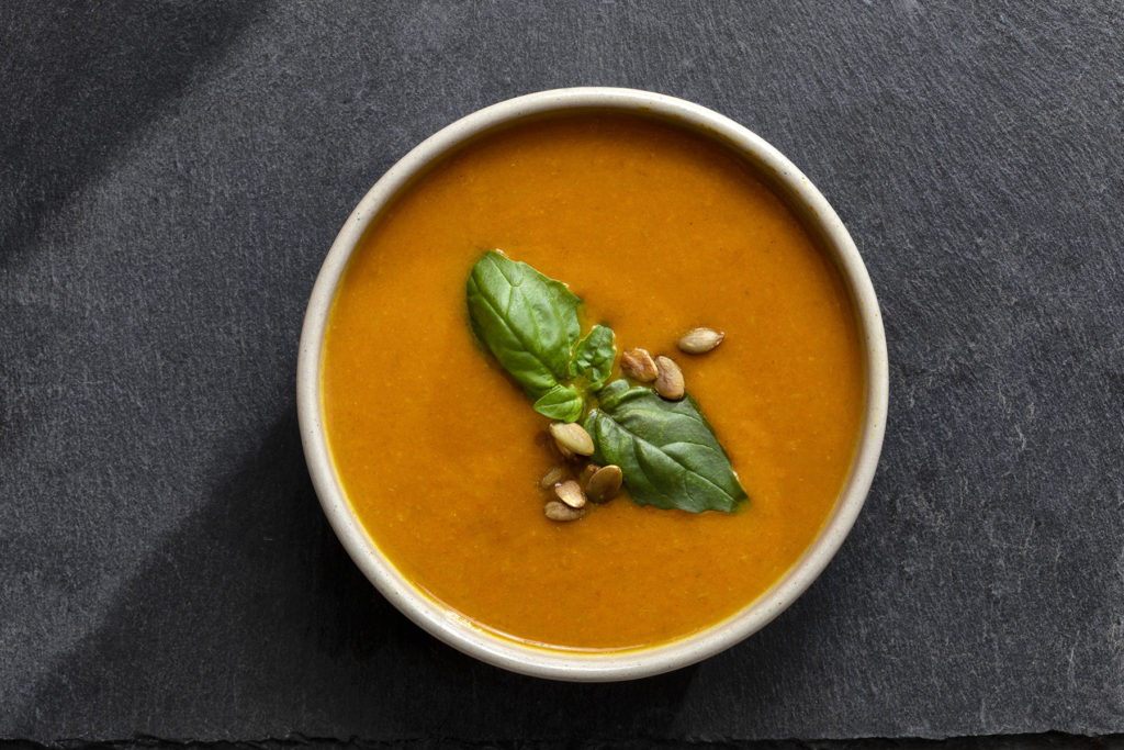 Vegetarian Carrot and Ginger Soup Recipe