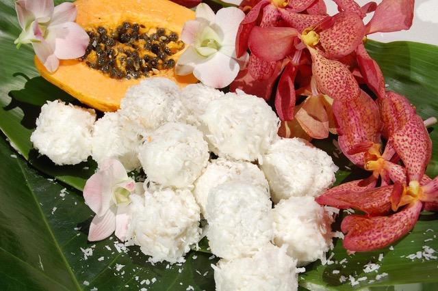 Coconut Banana Truffles from Dahlia Haas