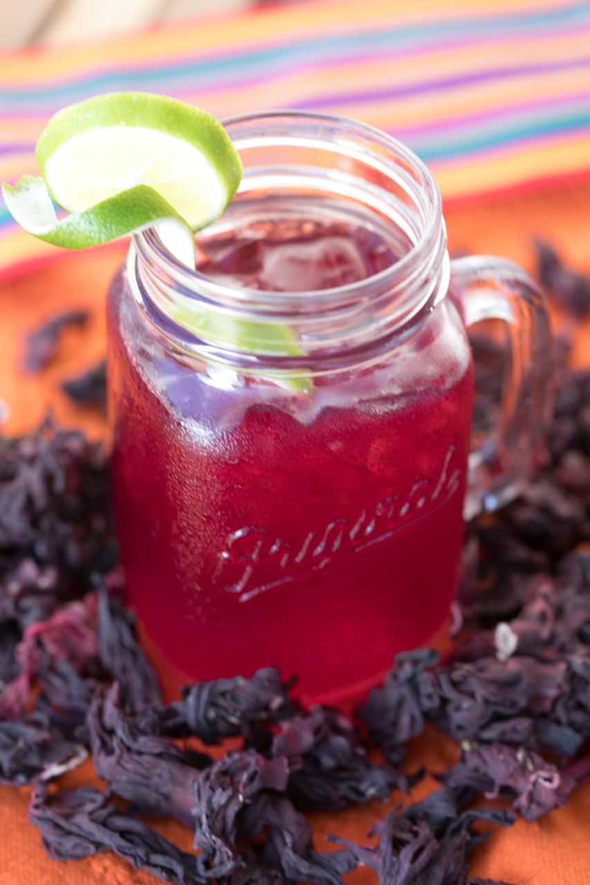 Refresh with Hibiscus Agua Fresca