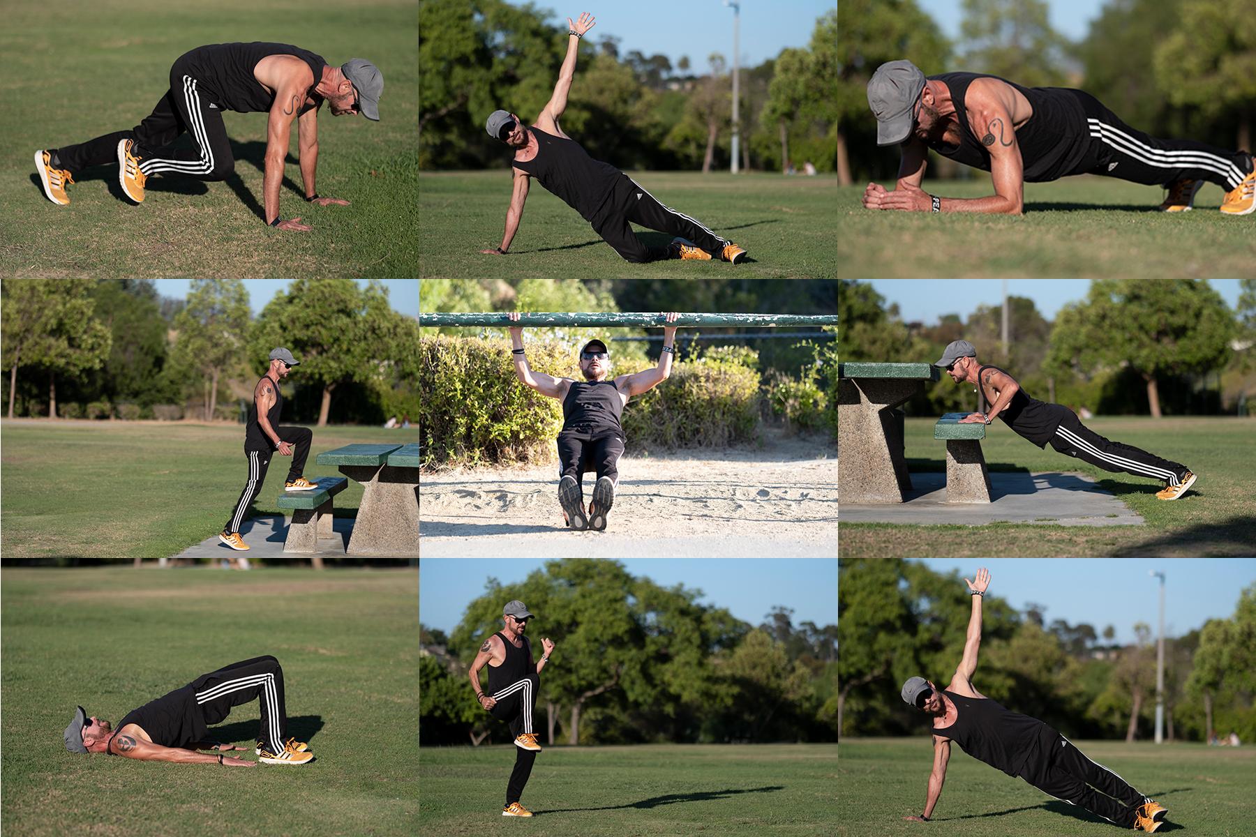 Barry's Park or Backyard Workout