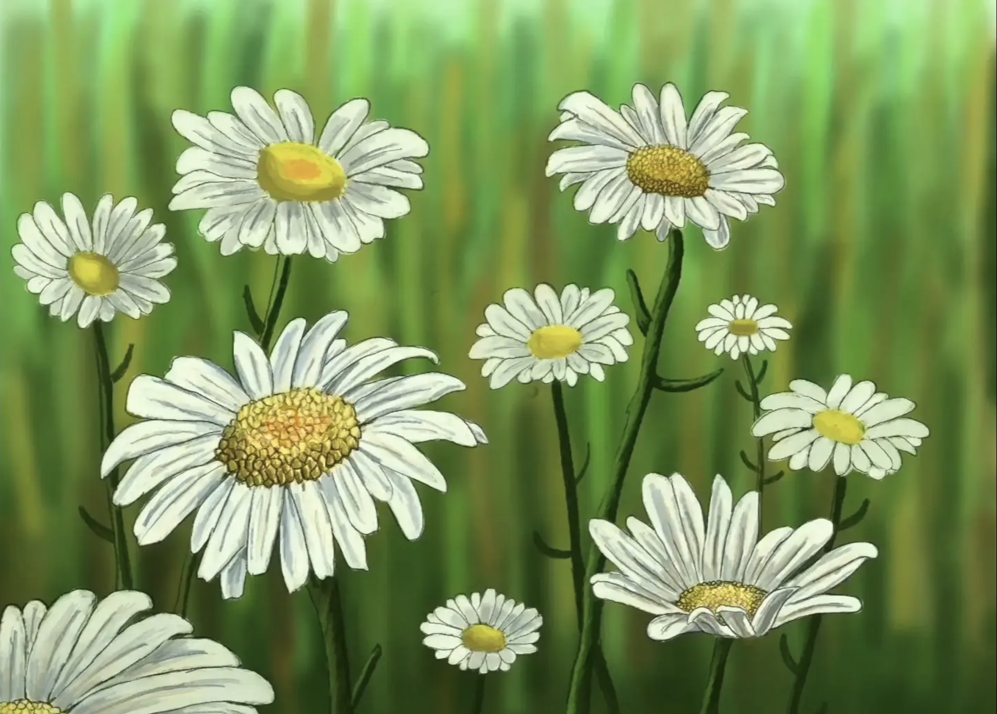 Daisies by Cheryl Lin Fielding and her students at the University of California, Los Angeles