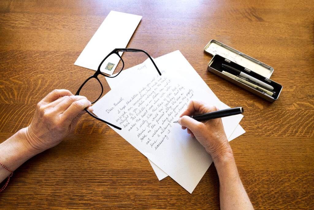 The Pleasures of Writing a Letter