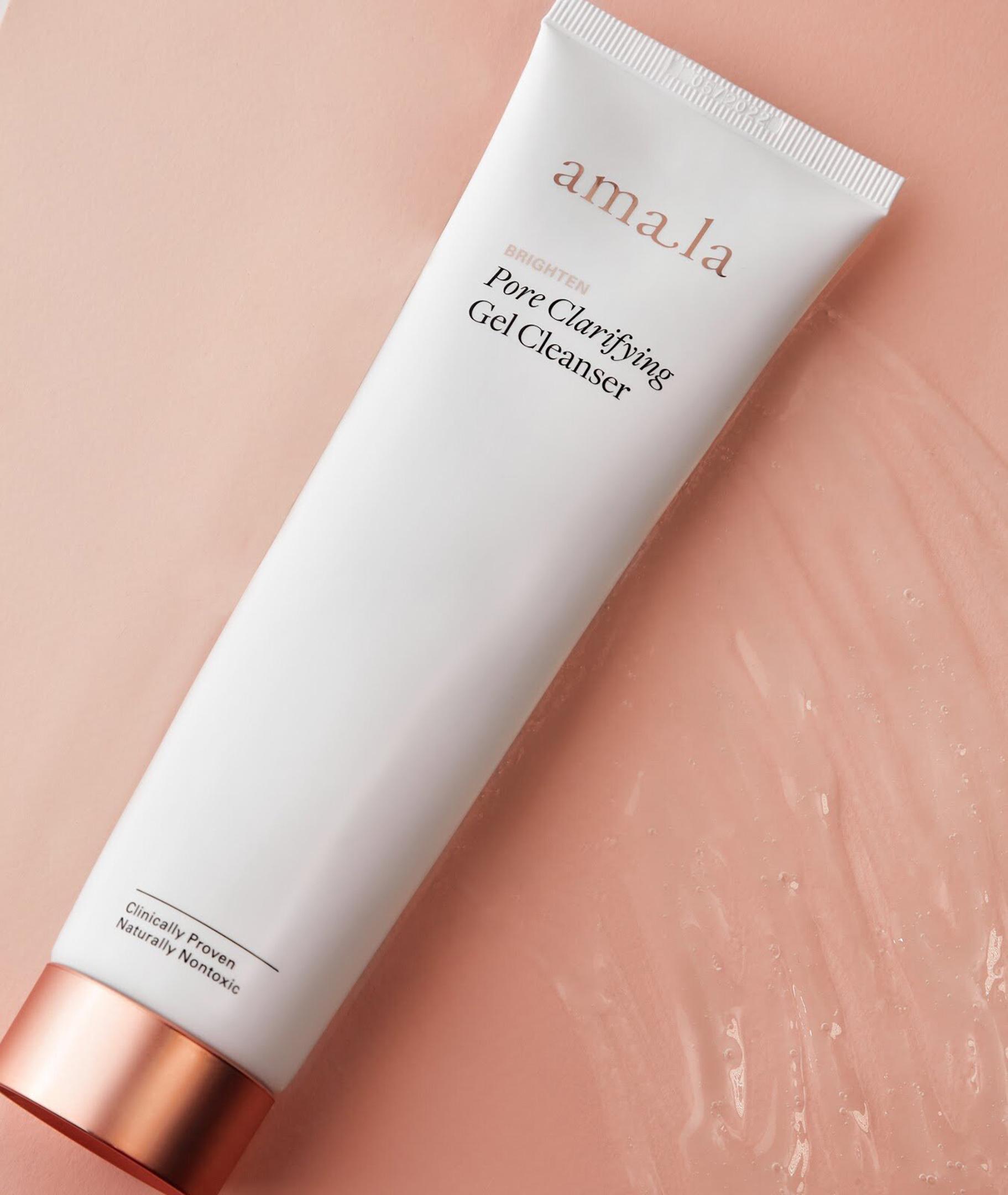Pore clarifying gel cleanser, amala