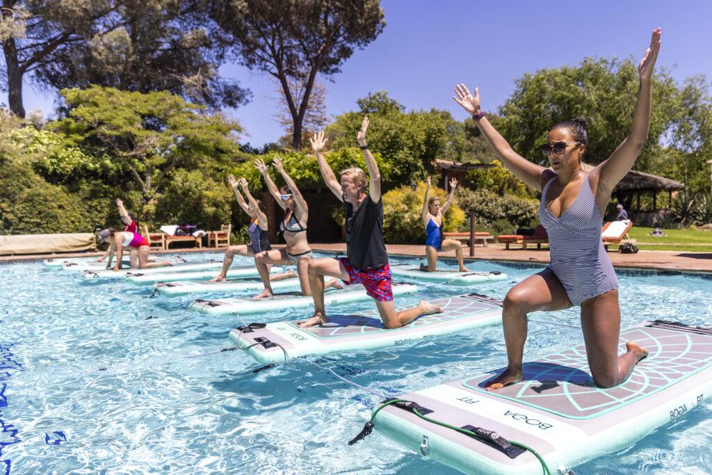 Aqua Board Class Works Your Stability