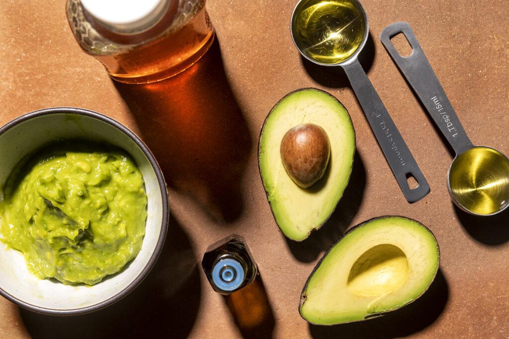 Avocado and Honey Hydrating Hair Mask