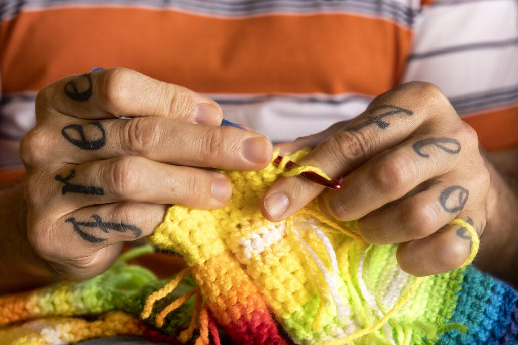 Knitting to Wellness